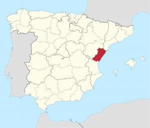 Castellon Spanje provincie